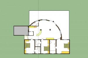 villa bougainvillier 260 m²