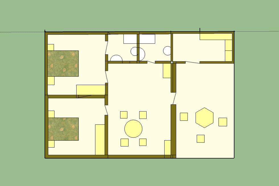 Villa Vanille Plan