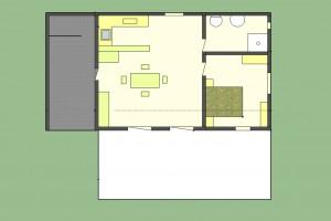 villa vela velogno de 89 m²
