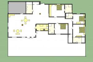 villa Ylang Ylang de 480 m²